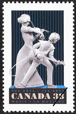 Music Canada Postage Stamp   The Arts