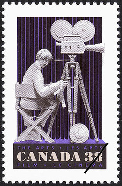 Film Canada Postage Stamp | The Arts