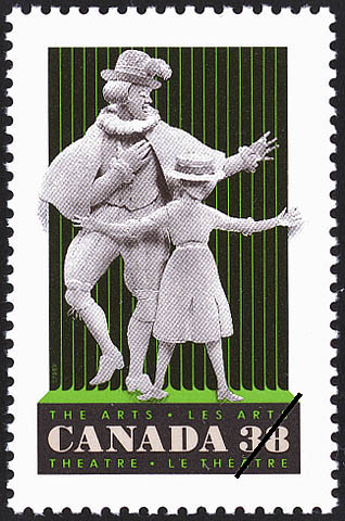Theatre Canada Postage Stamp