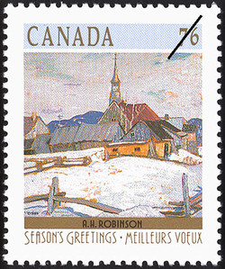 A.H. Robinson, Ste. Agnes Canada Postage Stamp