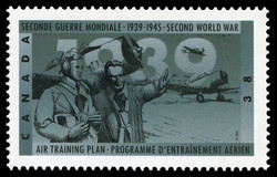 Air Training Plan Canada Postage Stamp | The Second World War, 1939, Reluctantly at War Again
