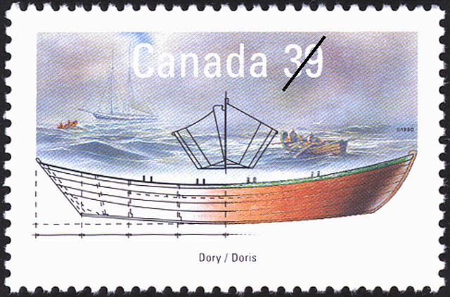 Dory Canada Postage Stamp