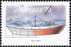 Dory Canada Postage Stamp | Small Craft, Work Boats