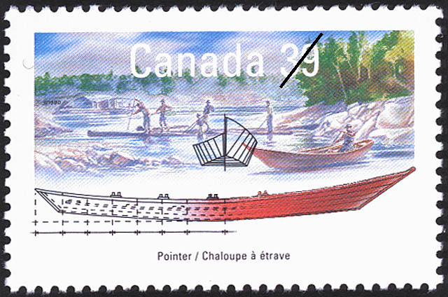 Pointer Canada Postage Stamp