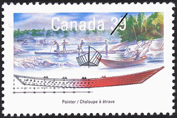 Pointer Canada Postage Stamp | Small Craft, Work Boats