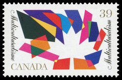 Multiculturalism Canada Postage Stamp