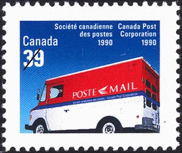 Canada Post Corporation, 1990 Canada Postage Stamp