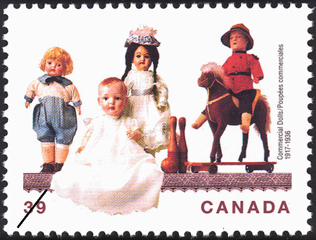 Commercial Dolls, 1917-1936 Canada Postage Stamp | Dolls