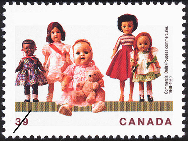 Commercial Dolls, 1940-1960 Canada Postage Stamp