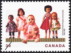 Commercial Dolls, 1940-1960 Canada Postage Stamp | Dolls