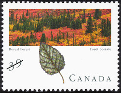 Boreal Forest Canada Postage Stamp | Canadian Forests
