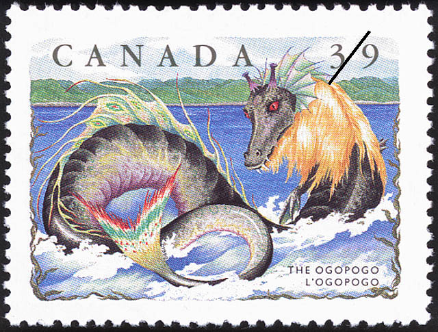 The Ogopogo Canada Postage Stamp