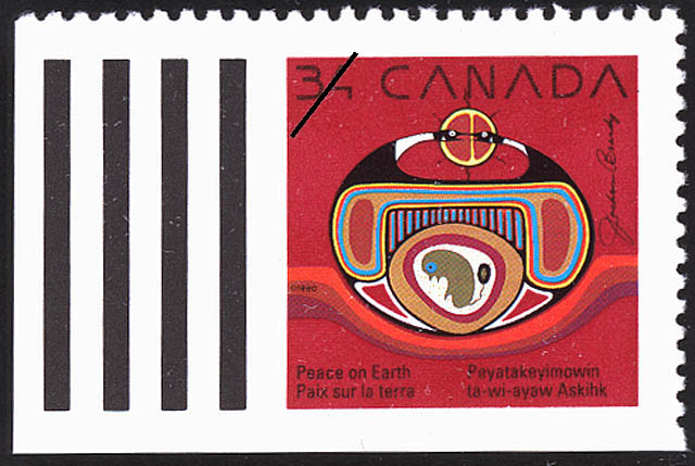 Rebirth Canada Postage Stamp