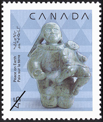 Mother and Child Canada Postage Stamp