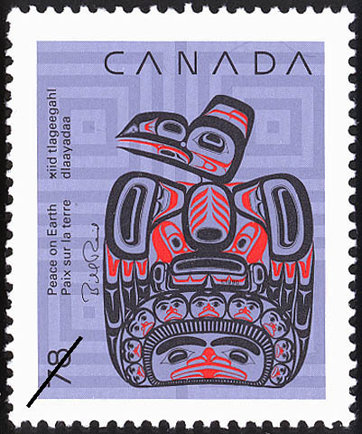 Children of the Raven Canada Postage Stamp