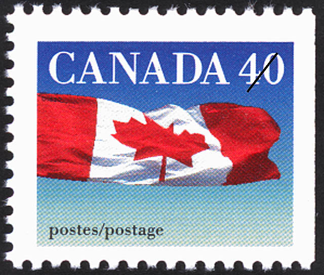 The Flag Canada Postage Stamp | Canadian Flag