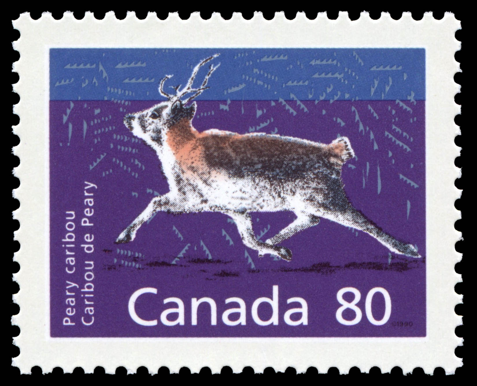 Peary Caribou Canada Postage Stamp