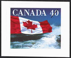 The Flag  Postage Stamp