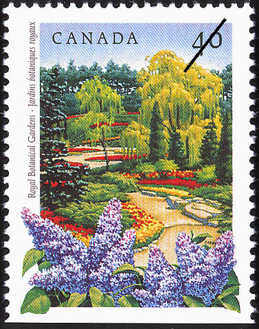 Royal Botanical Gardens Canada Postage Stamp