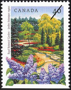 Royal Botanical Gardens Canada Postage Stamp | Public Gardens