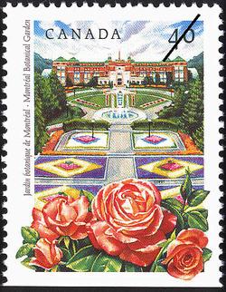 Montreal Botanical Garden Canada Postage Stamp | Public Gardens