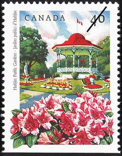 Halifax Public Gardens Canada Postage Stamp | Public Gardens