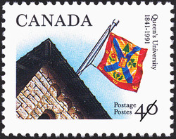 Queen's University, 1841-1991 Canada Postage Stamp