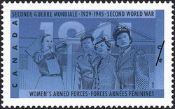 Women's Armed Forces  Postage Stamp
