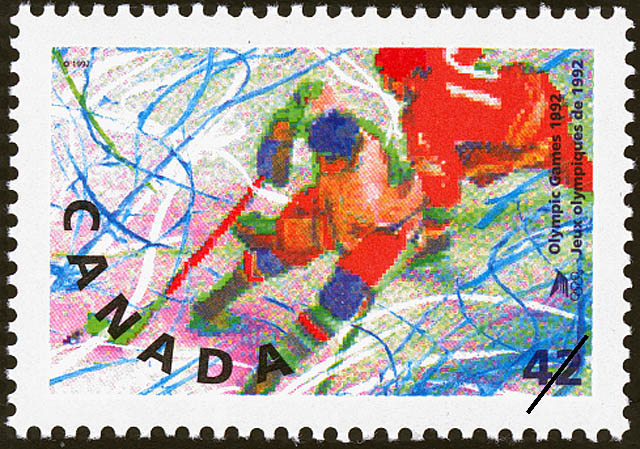Hockey Canada Postage Stamp