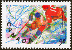 Hockey Canada Postage Stamp | Olympic Winter Games