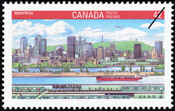 Montreal Canada Postage Stamp