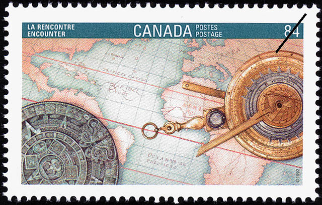 Encounter Canada Postage Stamp