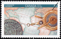 Encounter Canada Postage Stamp | Canada 92