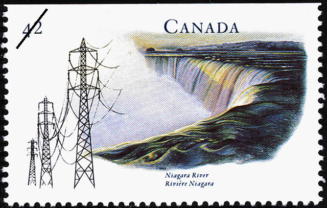Niagara River Canada Postage Stamp