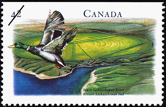 South Saskatchewan River Canada Postage Stamp
