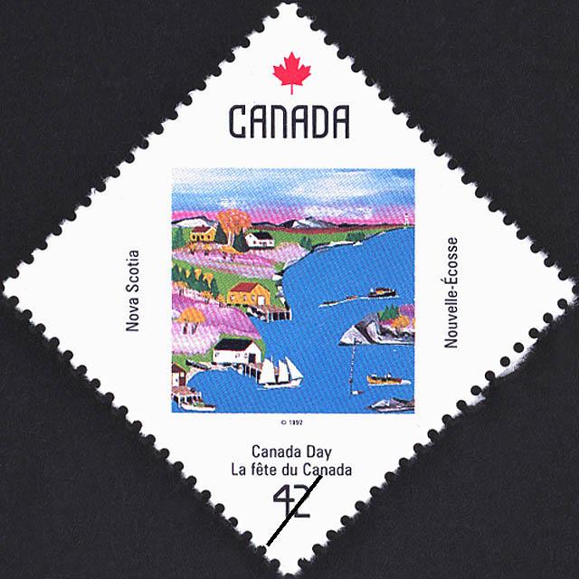 Nova Scotia, Cove Scene Canada Postage Stamp