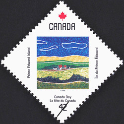 Prince Edward Island, Country Scene Canada Postage Stamp | Canada Day
