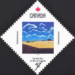 Saskatchewan, Untitled Canada Postage Stamp | Canada Day