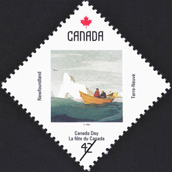 Newfoundland, Off Cape St. Francis Canada Postage Stamp