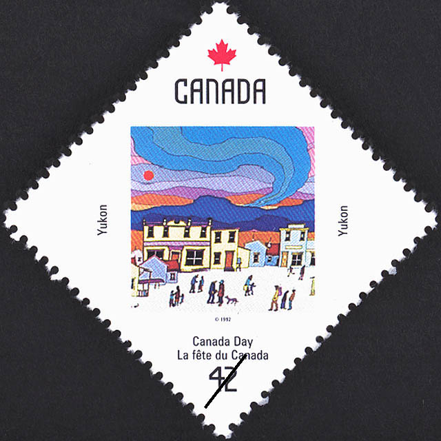 Yukon, Town Life Canada Postage Stamp | Canada Day