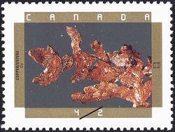 Copper Canada Postage Stamp
