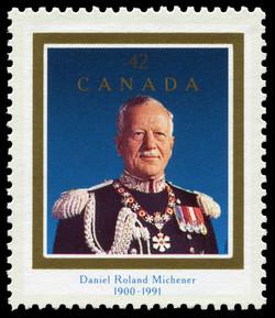 Daniel Roland Michener, 1900-1991 Canada Postage Stamp
