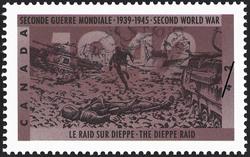 The Dieppe Raid Canada Postage Stamp | The Second World War, 1942, Dark Days Indeed