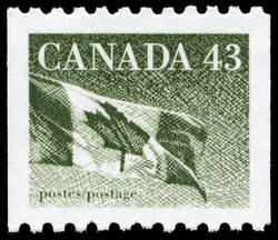 The Flag Canada Postage Stamp
