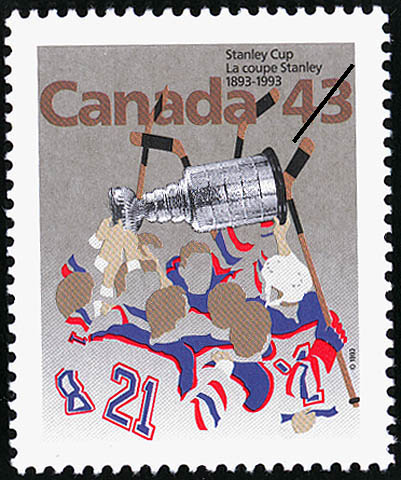 Stanley Cup, 1893-1993 Canada Postage Stamp