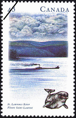 St. Lawrence River Canada Postage Stamp