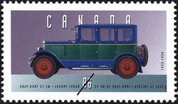 Gray-Dort 25 SM, 1923-1924, Luxury Sedan Canada Postage Stamp | Historic Land Vehicles, Personal Vehicles