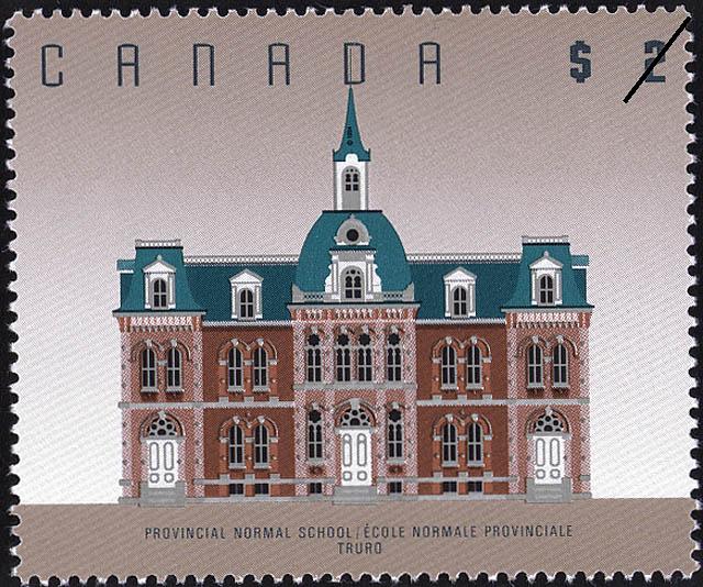 Provincial Normal School, Truro Canada Postage Stamp