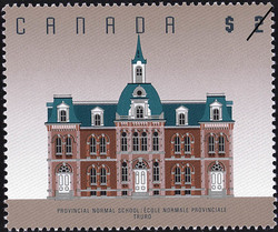 Provincial Normal School, Truro Canada Postage Stamp | Architecture