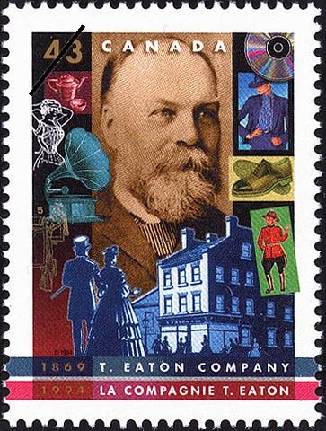 T. Eaton Company, 1869-1994 Canada Postage Stamp